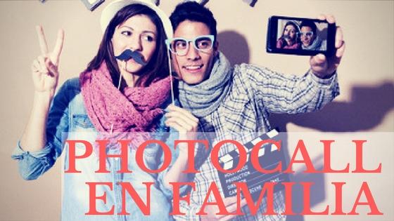 Photocall en famiiia