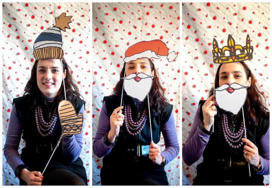 Pon un fotomatón en tu fiesta de Navidad