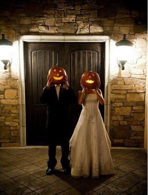 Una boda inspirada en Halloween