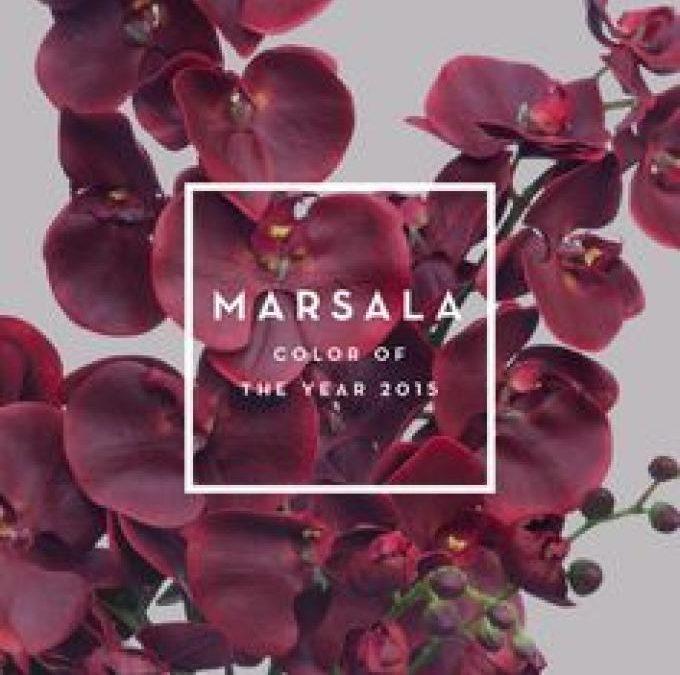 El Marsala, el color de tu boda en 2015