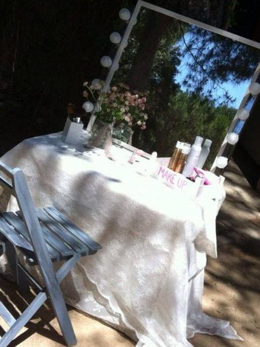 Pon un Beauty Corner en tu boda