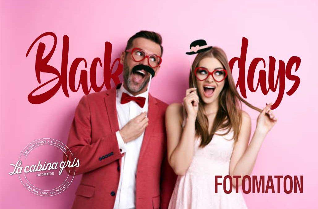 Black Friday: fotomatón para tu boda y más regalos, por 350€