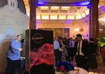 Fotomaton para fotos en el hotel Ritz de Madrid